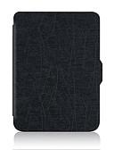 baratos Outro caso de telefone-Capinha Para BLU kobo clara HD Antichoque / Auto Dormir / Despertar Capa Proteção Completa Sólido Macia PU Leather