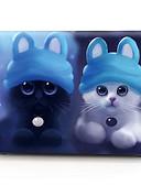 """billige MacBook-tilbehør-MacBook Etui Katt Plast til Ny MacBook Pro 15"""" / Ny MacBook Pro 13"""" / Macbook Pro 15 """""""