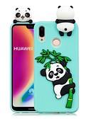 ราคาถูก เคสสำหรับโทรศัพท์มือถือ-Case สำหรับ Huawei Huawei P20 / Huawei P20 Pro / Huawei P20 lite DIY ปกหลัง Panda Soft TPU / P10 Lite / P10