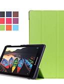 זול מקרה אחר-מגן עבור Lenovo Lenovo Tab3 8 / Lenovo Tab 2 A8-50 עם מעמד / מגנטי כיסוי מלא אחיד קשיח עור PU