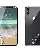 povoljno Zaštitne folije za iPhone-AppleScreen ProtectoriPhone X Visoka rezolucija (HD) Prednja i stražnja zaštitna folija 2 kom PET