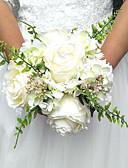 """ราคาถูก ม่านสำหรับงานแต่งงาน-ดอกไม้สำหรับงานแต่งงาน ช่อดอกไม้ งานแต่งงาน / โอกาสพิเศษ เส้นใยสังเคราะห์ 7.87""""(ประมาณ 20ซม.)"""