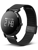 baratos Smart watch-STCV08 Masculino Relógio inteligente Android iOS Bluetooth Impermeável Monitor de Batimento Cardíaco Medição de Pressão Sanguínea Tela de toque Suspensão Longa Podômetro Aviso de Chamada Monitor de