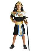 povoljno Haljine za djevojčice-faraon Kostim Dječaci Boy Halloween Halloween Karneval Dječji dan Festival / Praznik Polyster odjeća Crn Jednobojni Halloween