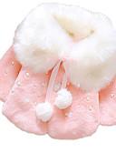 levne Dětské bundičky a kabátky-Dítě Dívčí Základní Denní Tisk Dlouhý rukáv Standardní S podšívkou Světlá růžová / Toddler