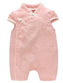 Χαμηλού Κόστους The Freshest One-Piece-Μωρό Κοριτσίστικα Ενεργό Μονόχρωμο Αμάνικο Ολόσωμη Φόρμα & Φόρμες Ανθισμένο Ροζ