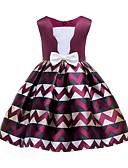 Χαμηλού Κόστους Λουλουδάτα φορέματα για κορίτσια-Πριγκίπισσα Μέχρι το γόνατο Φόρεμα για Κοριτσάκι Λουλουδιών - Σατέν Αμάνικο Τετράγωνη Λαιμόκοψη με Σχέδιο Πεταλούδα / Σχέδιο / Στάμπα