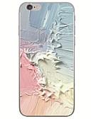 baratos Capinhas para iPhone-Capinha Para Apple iPhone X / iPhone 8 Plus / iPhone 8 Ultra-Fina / Estampada Capa traseira Cenário / Pintura à Óleo Macia TPU
