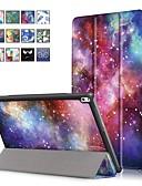 ราคาถูก กรณีอื่น ๆ-Case สำหรับ Lenovo Lenovo Tab 4 10 Plus / Lenovo Tab 4 10 with Stand / Magnetic ตัวกระเป๋าเต็ม ภาพสีน้ำมัน Hard หนัง PU