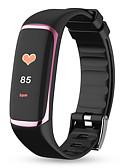 baratos Smart watch-Factory OEM P9 Pulseira inteligente Bluetooth Esportivo Impermeável Monitor de Batimento Cardíaco Medição de Pressão Sanguínea Tela de toque Podômetro Aviso de Chamada Monitor de Atividade Monitor de