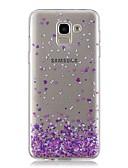 baratos Acessórios para Samsung-Capinha Para Samsung Galaxy J7 (2017) / J6 / J5 (2017) Transparente / Estampada Capa traseira Coração Macia TPU