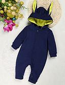 זול שמלות לתינוקות-מקשה אחת One-pieces שרוול ארוך אחיד פעיל בנות תִינוֹק