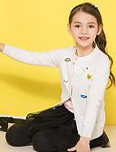 povoljno Džemperi i kardigani za djevojčice-Djeca Djevojčice Osnovni Print Dugih rukava Regularna Džemper i kardigan Obala