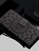 ราคาถูก เคสสำหรับโทรศัพท์มือถือ-Case สำหรับ Samsung Galaxy Galaxy S10 / Galaxy S10 Plus / Galaxy S10 E Wallet / Card Holder / with Stand ตัวกระเป๋าเต็ม ดอกไม้ Hard หนัง PU