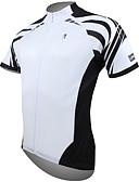 ราคาถูก เสื้อเชิ้ตสำหรับสุภาพสตรี-ILPALADINO สำหรับผู้ชาย แขนสั้น Cycling Jersey ขาว ส้ม สีเหลือง จักรยาน เสื้อยืด Tops ขี่จักรยานปีนเขา Road Cycling ระบายอากาศ แห้งเร็ว Ultraviolet Resistant กีฬา 100% โพลีเอสเตอร์ เสื้อผ้าถัก