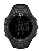 baratos Relógio Esportivo-Homens Relógio Esportivo Relogio digital Digital Silicone Preta Legal Digital Casual - Preto Vermelho Azul