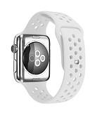 billiga Smartwatch-fodral-Kiselgel Klockarmband Rem för Apple Watch Series 4/3/2/1 Svart / Vit / Blå 23cm / 9 Inches 2.1cm / 0.83 Specifikation