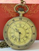 ราคาถูก นาฬิกาพก-สำหรับผู้ชาย สำหรับผู้หญิง นาฬิกาแบบพกพา นาฬิกาทอง นาฬิกาอิเล็กทรอนิกส์ (Quartz) ทอง นาฬิกาใส่ลำลอง เท่ห์ ระบบอนาล็อก ไม่เป็นทางการ แฟชั่น - สีทอง
