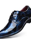 זול טוקסידו-בגדי ריקוד גברים נעליים פורמליות PU אביב עסקים נעלי אוקספורד צהוב / אדום / כחול