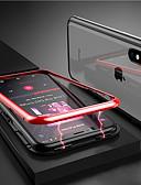זול מגנים לאייפון-מגן עבור Apple iPhone X / iPhone 8 Plus / iPhone 8 מגנטי כיסוי מלא אחיד קשיח זכוכית משוריינת