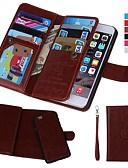 זול מגנים לאייפון-מגן עבור Apple iPhone XS / iPhone XR / iPhone XS Max ארנק / מחזיק כרטיסים / עמיד בזעזועים כיסוי מלא אחיד קשיח עור PU