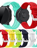 ราคาถูก วง Smartwatch-สายนาฬิกา สำหรับ Forerunner 735 / Forerunner 630 / Forerunner 620 Garmin สายยางสำหรับเส้นกีฬา ยางทำจากซิลิคอน สายห้อยข้อมือ / Forerunner 235 / Forerunner 230 / Forerunner 220