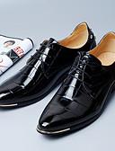 Χαμηλού Κόστους Αντρικά Εσώρουχα & Κάλτσες-Ανδρικά Τα επίσημα παπούτσια Μικροΐνα Άνοιξη Δουλειά Oxfords Μαύρο / Κόκκινο / Μπλε