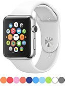זול טישרטים לגופיות לגברים-צפו בנד ל סדרת Apple Watch 5/4/3/2/1 Apple רצועת ספורט סיליקוןריצה רצועת יד לספורט