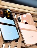 זול מגנים לאייפון-מגן עבור Apple iPhone XS / iPhone XR / iPhone XS Max ציפוי / אולטרה דק / שקיפות כיסוי אחורי אחיד רך TPU