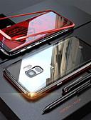 olcso Mobiltelefon tokok-Case Kompatibilitás Samsung Galaxy Note 9 / Note 8 Átlátszó Héjtok Egyszínű Kemény Hőkezelt üveg / Fém