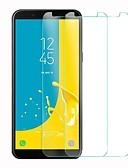 povoljno Zaštitne folije za iPhone-Samsung GalaxyScreen ProtectorJ6 Visoka rezolucija (HD) Prednja zaštitna folija 1 kom. Kaljeno staklo