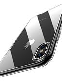 billige iPhone-etuier-Etui Til Apple iPhone XS / iPhone XR / iPhone XS Max Ultratynn / Gjennomsiktig Bakdeksel Ensfarget Myk TPU