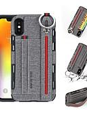 povoljno iPhone maske-Θήκη Za Apple iPhone XS / iPhone XR / iPhone XS Max Novčanik / Utor za kartice / Otporno na trešnju Stražnja maska Jednobojni Tvrdo PU koža