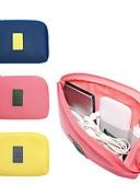 povoljno iPhone maske-Putna torba / Organizator putovanja Velika zapremnina / Brzo kemijska / Könnyű szövet USB kabel / Mobitel Terilen Putovanje / Izdržljivost