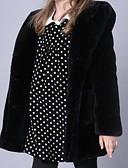 olcso Lány dzsekik és kabátok-Gyerekek Kisgyermek Lány Aktív Egyszínű Hosszú ujj Pamut Zakó és dzseki Fekete