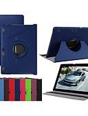 ราคาถูก กรณีอื่น ๆ-Case สำหรับ Lenovo Lenovo Tab 3 10 Plus / แท็บ Lenovo 3 10 ธุรกิจ (TB3-X70F / N) / Lenovo Tab 2 A10-70 360° Rotation / with Stand / Flip ตัวกระเป๋าเต็ม สีพื้น Hard หนัง PU