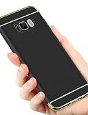 ราคาถูก เคสสำหรับโทรศัพท์มือถือ-Case สำหรับ Samsung Galaxy S9 / S9 Plus / S8 Plus Plating ปกหลัง สีพื้น Hard พีซี