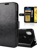 ราคาถูก เคสสำหรับโทรศัพท์มือถือ-Case สำหรับ Wiko Wiko Wim lite / Wiko Wim / Wiko View 2 Pro Wallet / Card Holder / Flip ตัวกระเป๋าเต็ม สีพื้น Hard หนัง PU