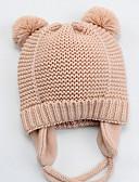 ราคาถูก หมวกเด็ก-เด็ก ทุกเพศ ซึ่งทำงานอยู่ ทุกวัน สีพื้น เส้นใยสังเคราะห์ หมวก สีแดงชมพู / สีน้ำเงินกรมท่า / สีเทา S / M / L