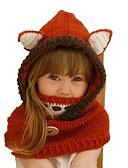 ราคาถูก หมวกเด็ก-Toddler เด็กผู้หญิง หวาน สัตว์ ฝ้าย หมวก ทับทิม M