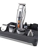 povoljno Digitalni satovi-Kemei Trimmer za kosu za Muškarci i žene 220 V / 230 V Low Noise / Ručni dizajn / Svjetlo i praktično