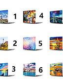 Χαμηλού Κόστους Ψηφιακά Ρολόγια-MacBook Θήκη Τοπίο / Ελαιογραφία PVC για Νέο MacBook Pro 15'' / Νέο MacBook Pro 13'' / MacBook Pro 15 ιντσών