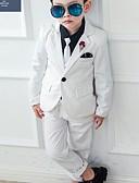 povoljno Kompletići za dječake-Djeca Dječaci Osnovni Print Dugih rukava Pamuk Komplet odjeće Plava