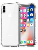Χαμηλού Κόστους Θήκες iPhone-tok Για Apple iPhone XS / iPhone XR / iPhone XS Max Ανθεκτική σε πτώσεις / Διαφανής Πίσω Κάλυμμα Μονόχρωμο Μαλακή TPU
