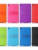 povoljno Maske za mobitele-Θήκη Za Xiaomi Xiaomi Tab 4 Otporno na trešnju / sa stalkom Stražnja maska Jednobojni Mekano silika gel