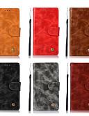 povoljno iPhone maske-Θήκη Za Asus ASUS ZenFone Max Pro ZB602KL / Asus ZenFone GO ZB551KL / Asus Zenfone 4 Selfie ZD553KL Novčanik / Utor za kartice / sa stalkom Korice Jednobojni Tvrdo PU koža