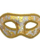 baratos Máscaras-Máscara Artigos de Halloween Mascarada Inspirado por Gato Fantasma da ópera Preto Branco Dia Das Bruxas Dia Das Bruxas Carnaval Adulto Homens Mulheres