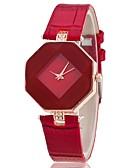 זול שעונים-בגדי ריקוד נשים שעון יד קווארץ דמוי עור מרופד שחור / לבן / כחול שעונים יום יומיים אנלוגי אופנתי אלגנטית - סגול אדום כחול שנה אחת חיי סוללה