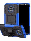 povoljno Maske za mobitele-Θήκη Za Motorola Moto G6 Plus sa stalkom Stražnja maska Oklop Tvrdo PC