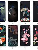 povoljno Maske za mobitele-Θήκη Za Xiaomi Redmi Note 5A / Xiaomi Redmi Note 5 Pro / Xiaomi Redmi 6 Pro Uzorak Stražnja maska Životinja / Cvijet Mekano TPU / Xiaomi Redmi Note 4X / Xiaomi Redmi Note 4